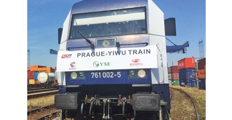 New rail connection links Czech Republic with China's Yiwu-OBOR Invest