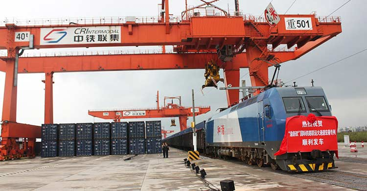 China-Europe freight train cargo value increases rapidly in Guangzhou-OBOR Invest
