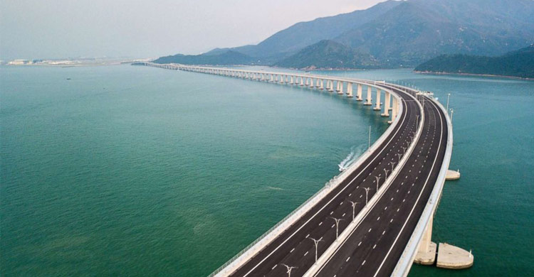 World's longest cross-sea bridge opens, integrating China's Greater Bay Area-OBOR Invest
